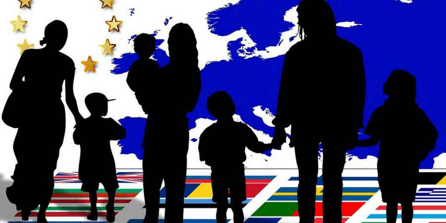 child emigration banner