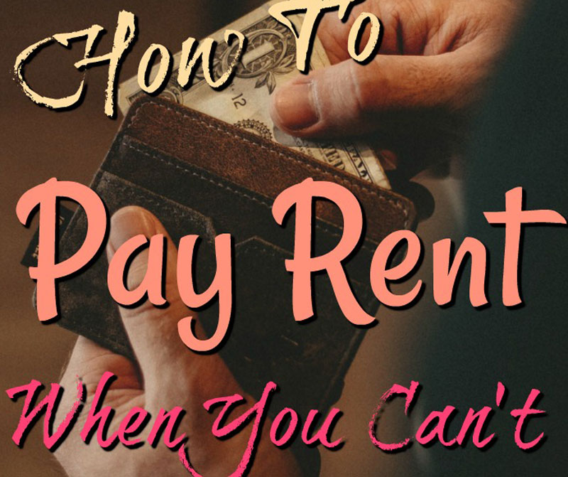 How To Pay Rent When You Cant web