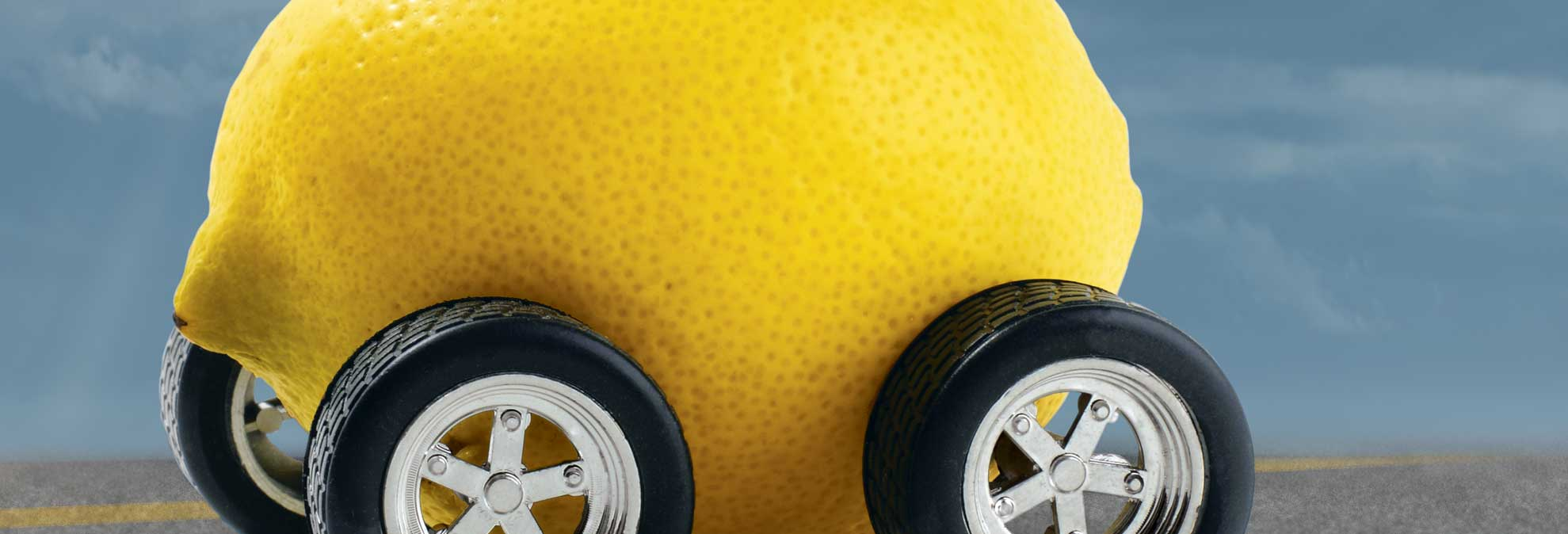 lemon car banner